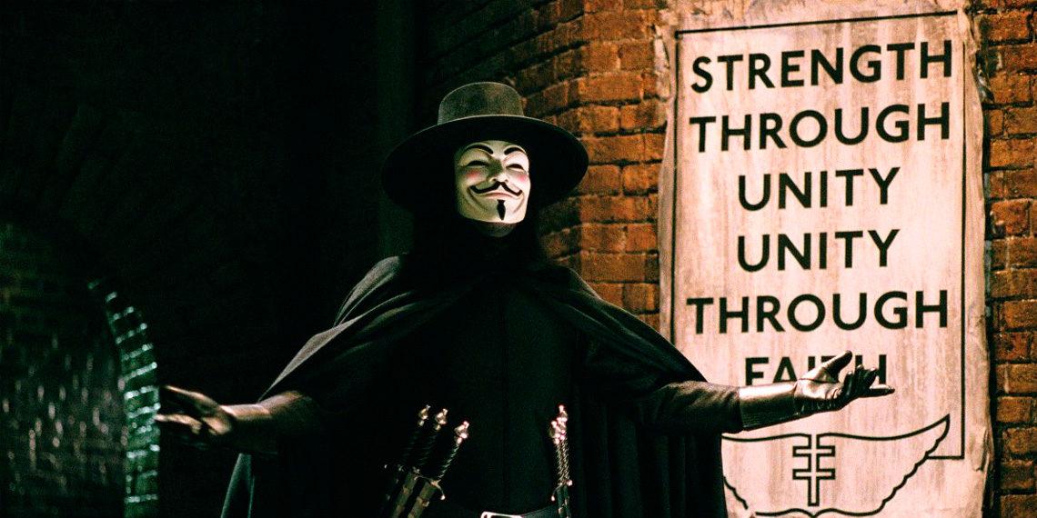 V ako Vendeta / V for Vendetta, 2005 © Warner Bros.
