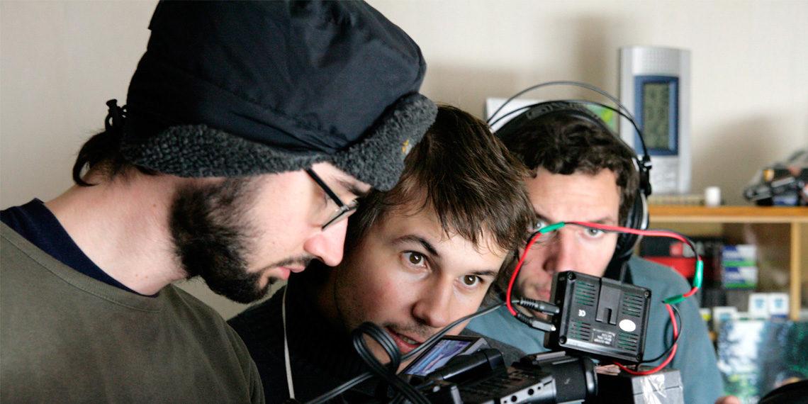 Miro Remo pri nakrúcaní filmu Arsy-Versy