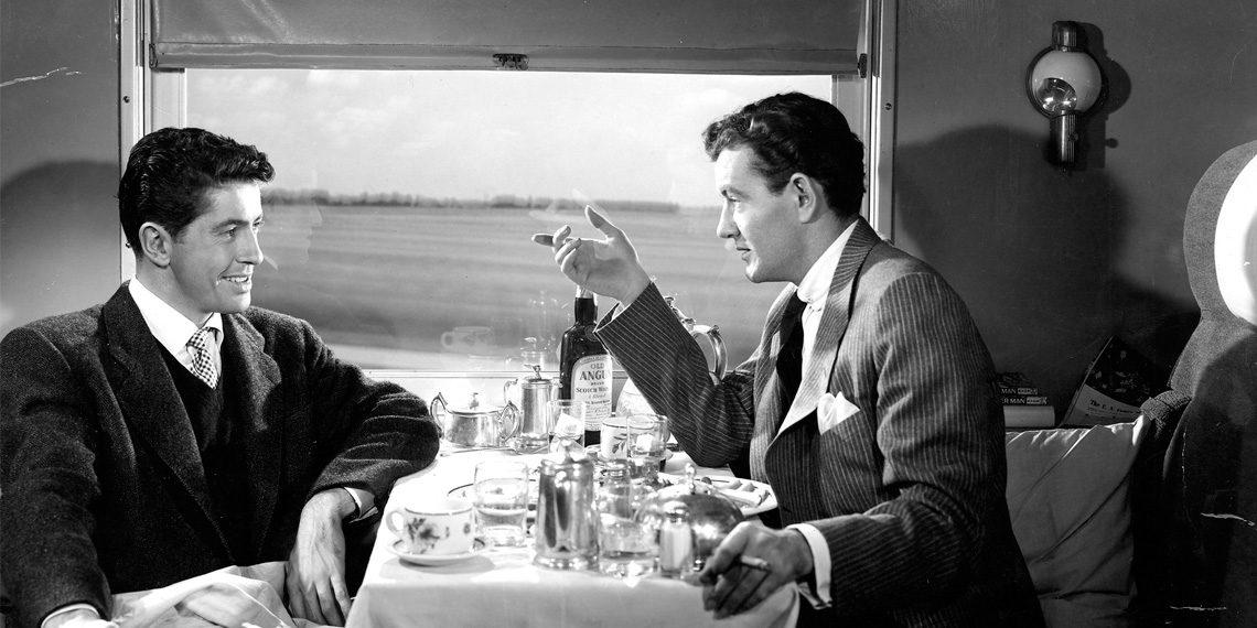 Cudzinci vo vlaku (Strangers on a Train) © 1951 Warner Bros.