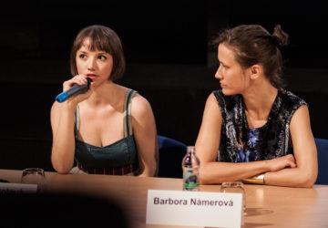 Tereza Nvotová na slovenskej premiére filmu Špina