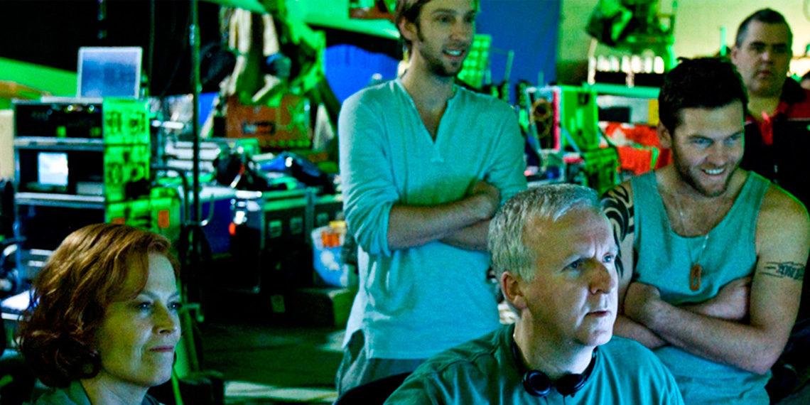 Z nakrúcania filmu Avatar, 2009 © 20th Century Fox