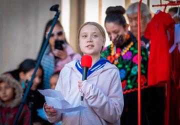 Greta Thunberg © Streetsblog Denver