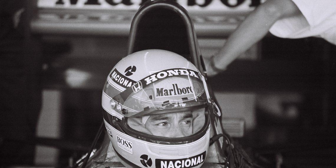 Ayrton Senna na Veľkej cene USA v roku 1991 © Stuart Seeger/Flickr.com