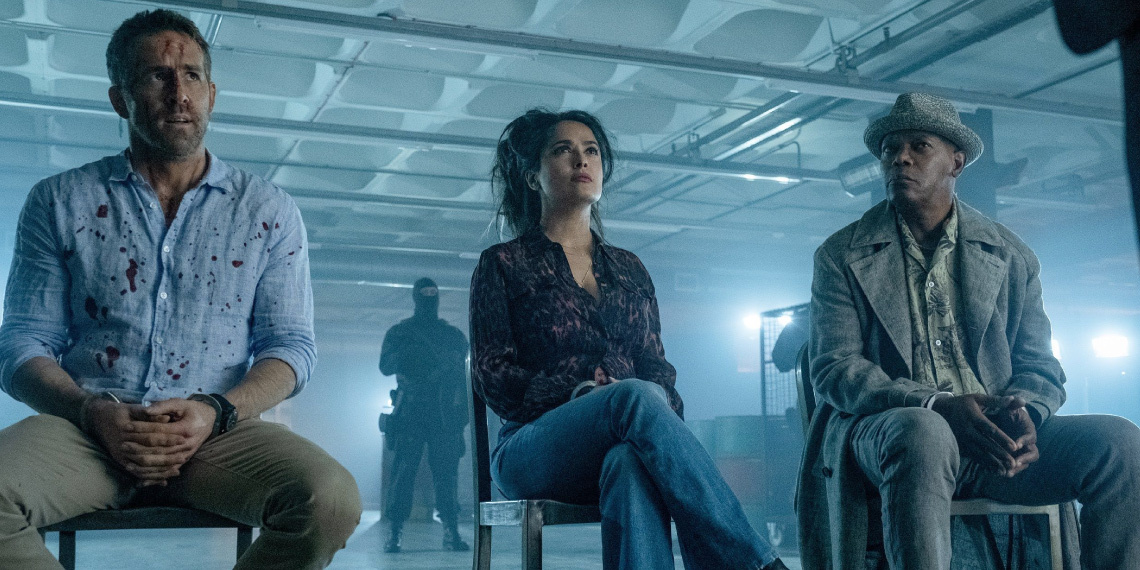 The Hitman's Wife's Bodyguard © 2021 Lionsgate