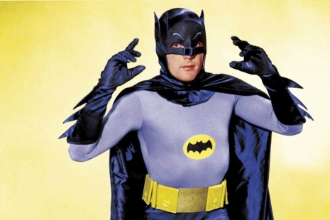 Adam West v kostýme Batmana (1966)