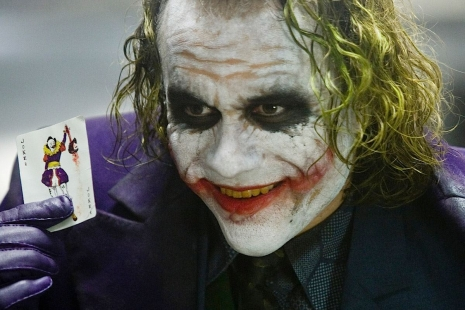 Heath Ledger ako Joker (2008)