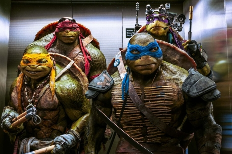 Ninja korytnačky 2 (Teenage Mutant Ninja Turtles: Out of the Shadows, 2016)