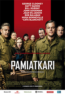 Pamiatkári (The Monuments Men, 2014)