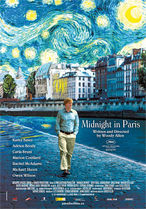 Polnoc v Paríži (Midnight in Paris, 2011)