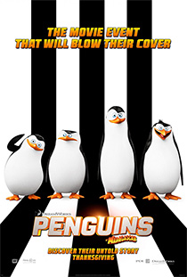 Tučniaky z Madagaskaru (Penguins of Madagascar, 2014)