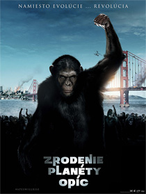 Zrodenie planéty opíc (Rise of the Planet of the Apes, 2011)
